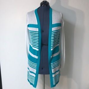NWT TOMMY BAHAMA OPEN FRONT CARDIGAN SZ SMALL